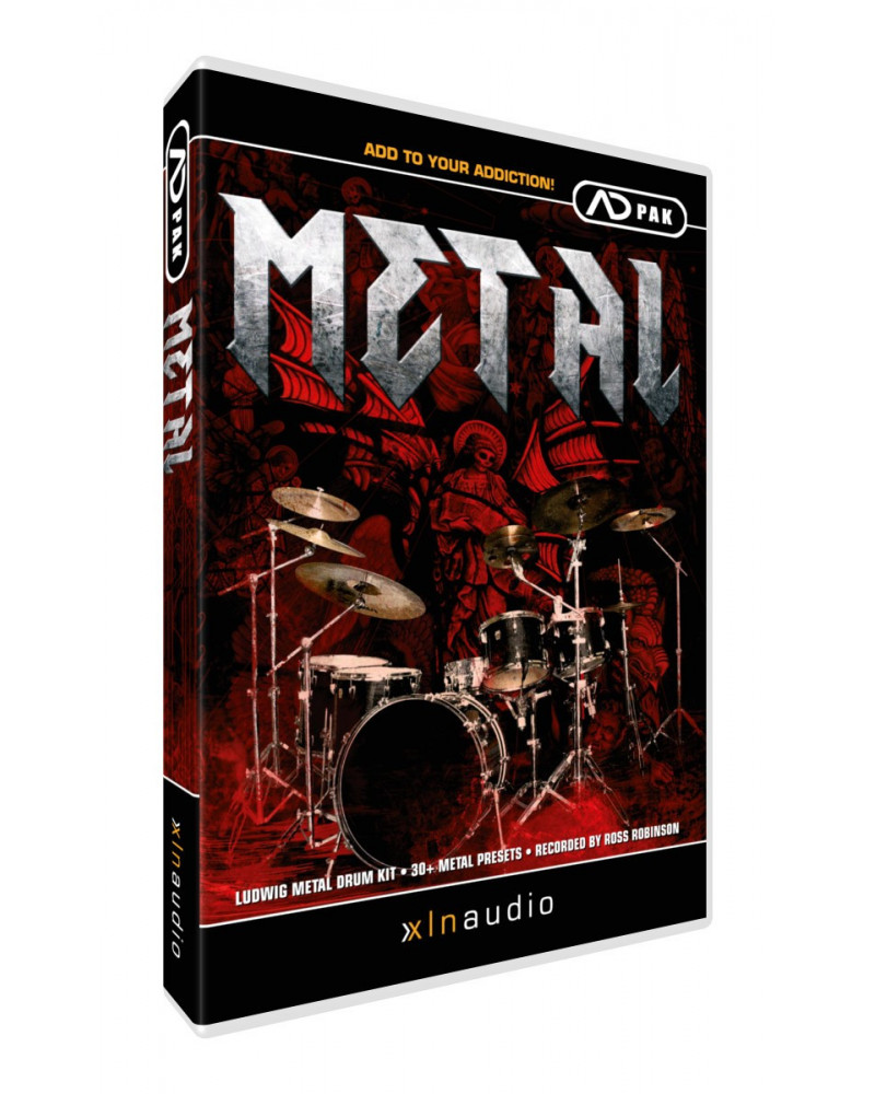 ADPAK Metal  Addictiv Drums